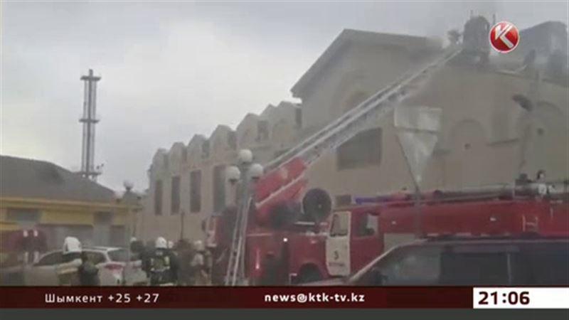 В Астане горело российское посольство