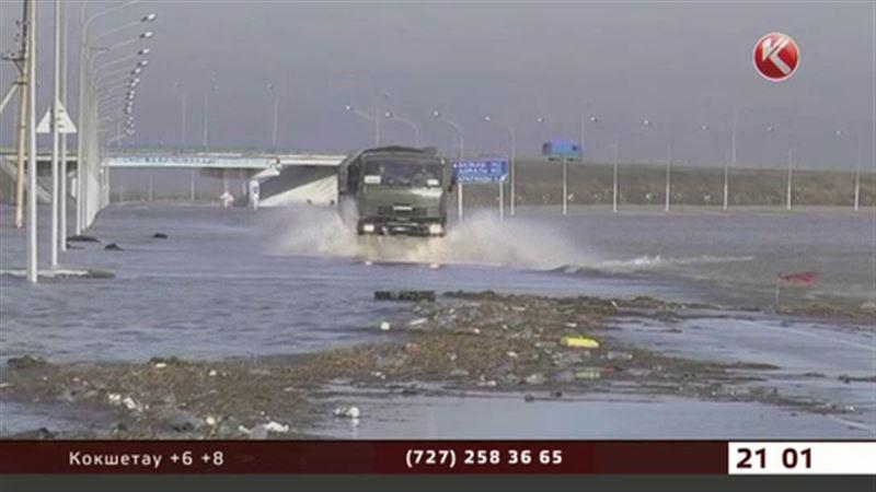 За уровнем воды в реке Нура теперь следят круглосуточно