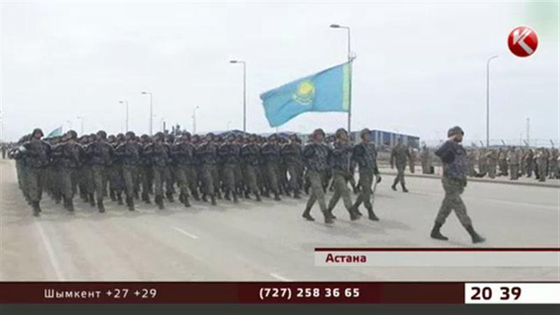 Астанада өтетін шеруде  шекарашылар таңқалдыруға уәде етті