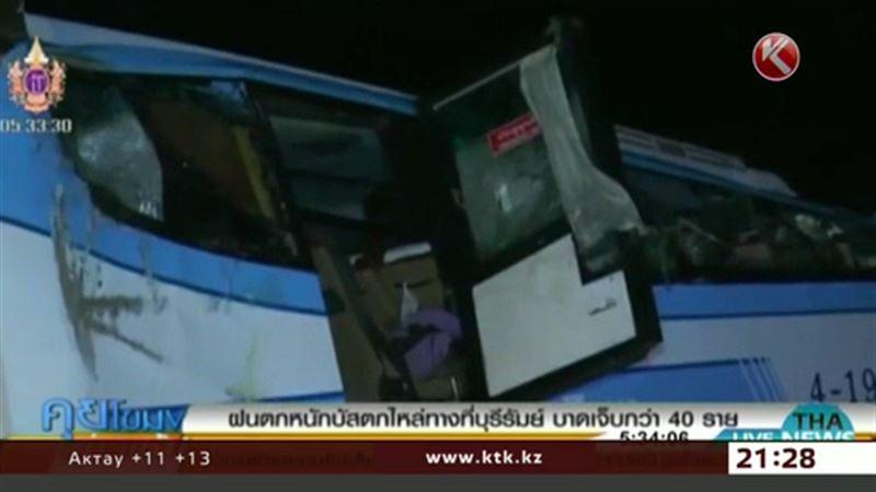 Казахстанцев среди пострадавших в аварии на северо-востоке Таиланда нет