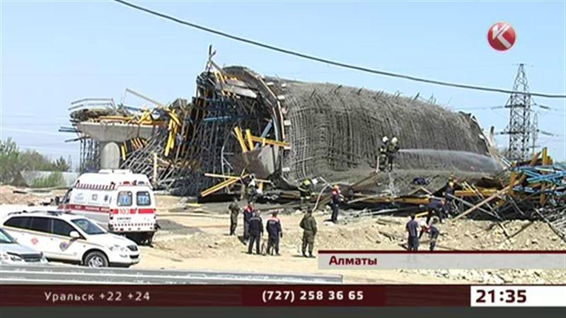 Опоры моста на Рыскулова в Алматы в идеальном состоянии – застройщик