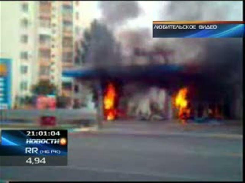 В Уральске взорвалась автозаправочная станция