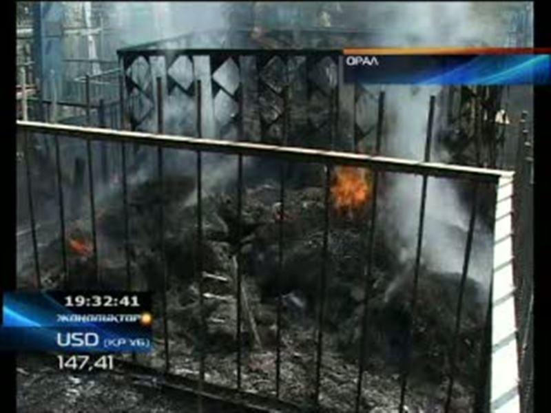 В Западном Казахстане продолжают полыхать пожары