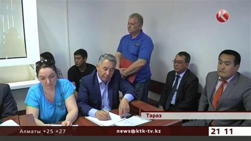 Высокопоставленных жамбылских полицейских судят за присвоение миллионов