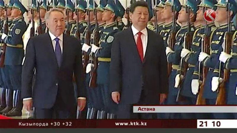 В Астану с официальным визитом прибыл председатель КНР