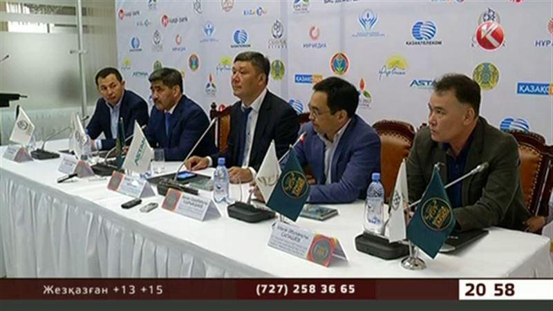 «Қазақстан барысына» қатысатындар Алматыға жиналды