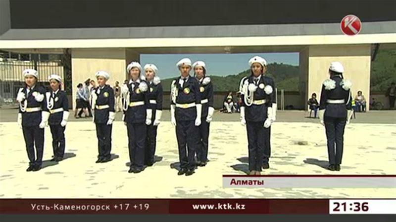 В Алматы в 42 раз прошел слет юных инспекторов