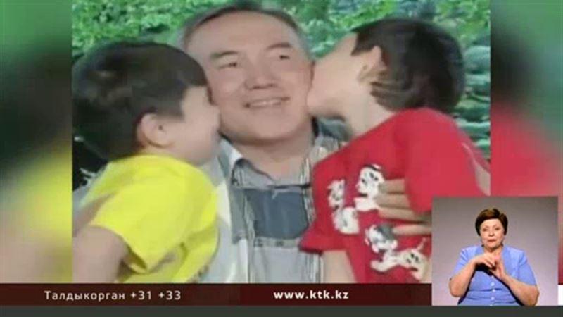 Тысячи казахстанцев растроганы семейным видео Назарбаевых