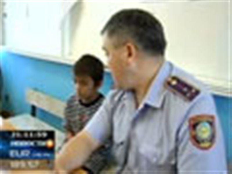 11-летний Нурболат Кажкаримов из Павлодара, наконец, отправился домой