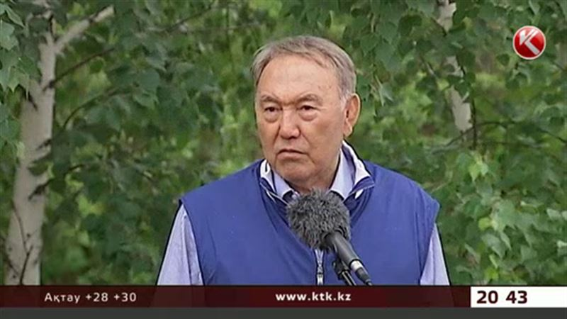 Назарбаев орманның ортасында тұрып  өмірдің мәні неде екенін түсіндірді
