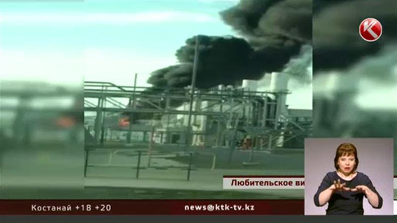На месторождении Карачаганак вспыхнул пожар