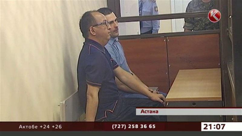 Кайрат Жамалиев и Алиби Жумагулов встретились в суде
