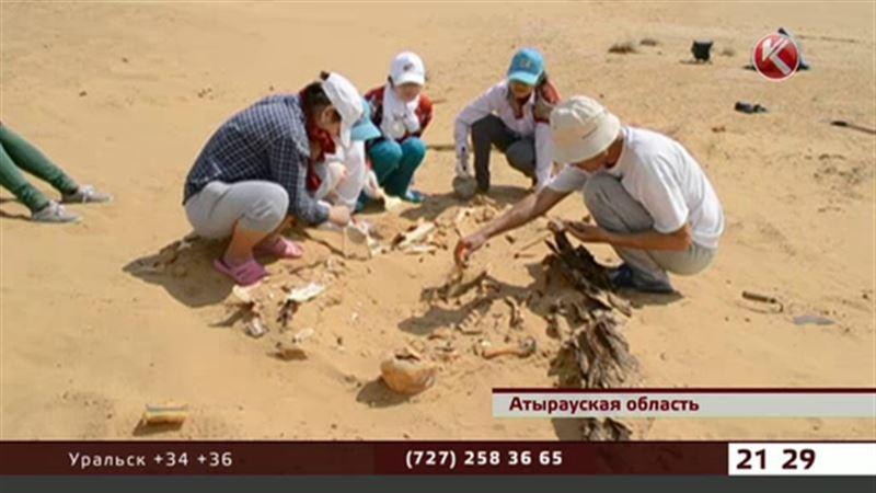 Тысячелетнего воина-огуза нашли атырауские студенты