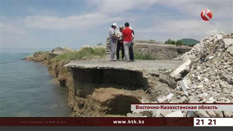 Зоны отдыха в Восточном Казахстане уходят под воду
