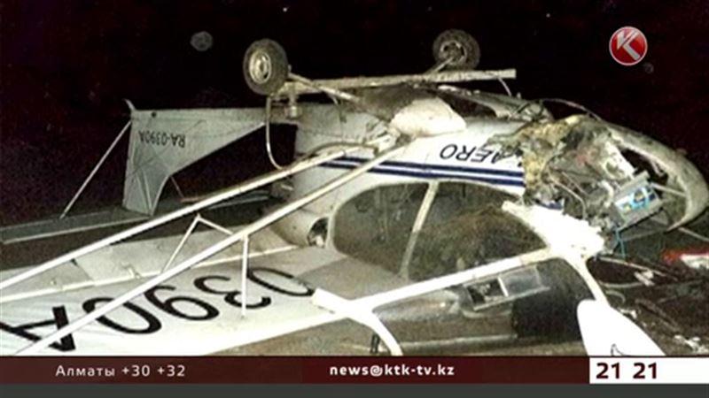 Пилот-казахстанец пострадал в Астраханской области