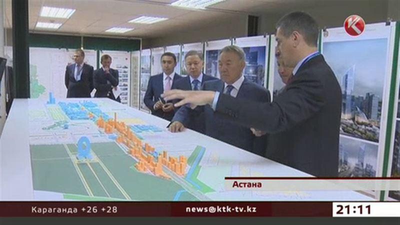Нурсултану Назарбаеву показали Астану будущего