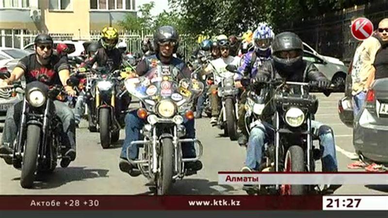 Алматинские байкеры: каждая наша поездка – нарушение закона