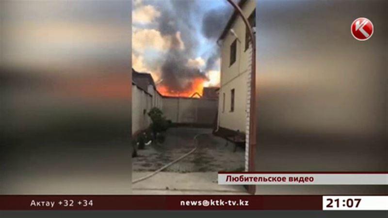 Ресторан в Актобе сгорел по вине его же владельца