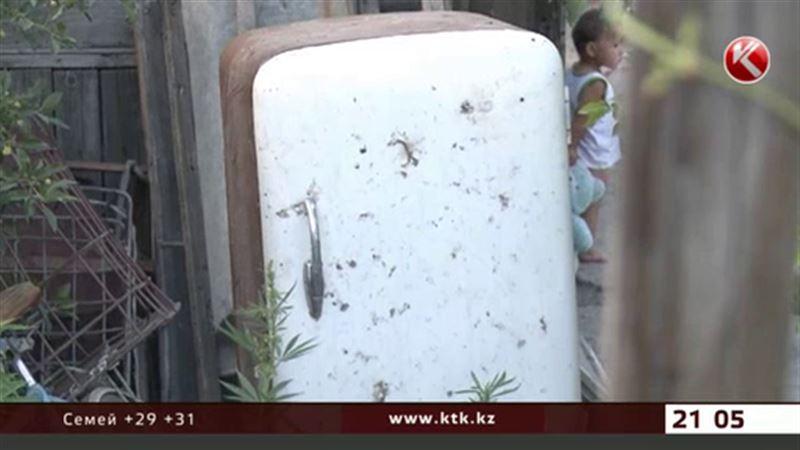 Старый холодильник убил детей в Семее