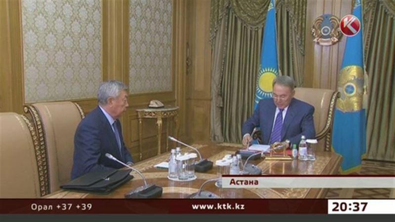 Назарбаев Әбіқаевты жұмыс кабинетіне шақыртты