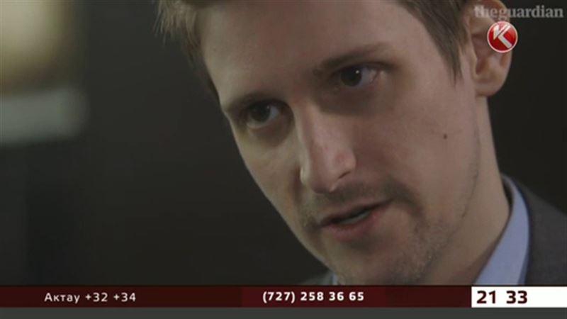 Пятьдесят тысяч тенге от Союза журналистов РК Сноудену отправят по почте