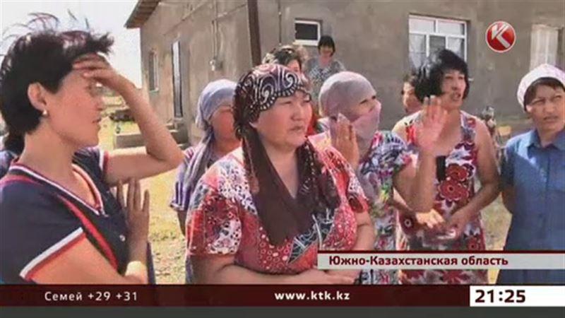 Полбокала воды в день – норма в южноказахстанском селе