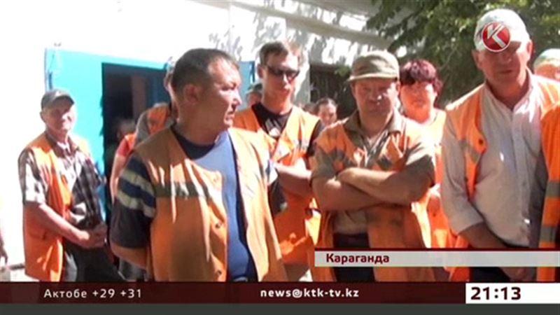 Дворники Караганды отказались выходить на работу