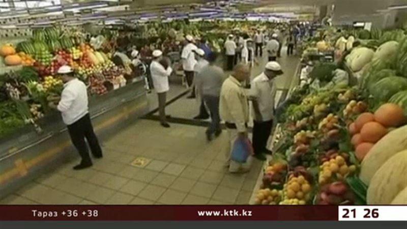 В Казахстане зафиксирована дефляция