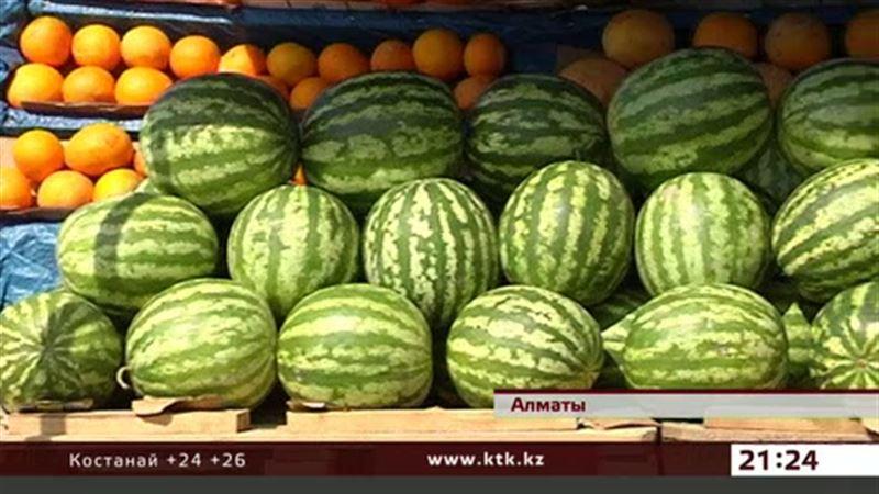 Качество арбузов, продаваемых в Казахстане, некому проверить