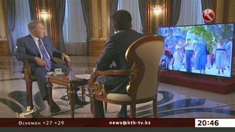 Назарбаевтың ашық әңгімесі ел ішінде қызу талқыланып жатыр