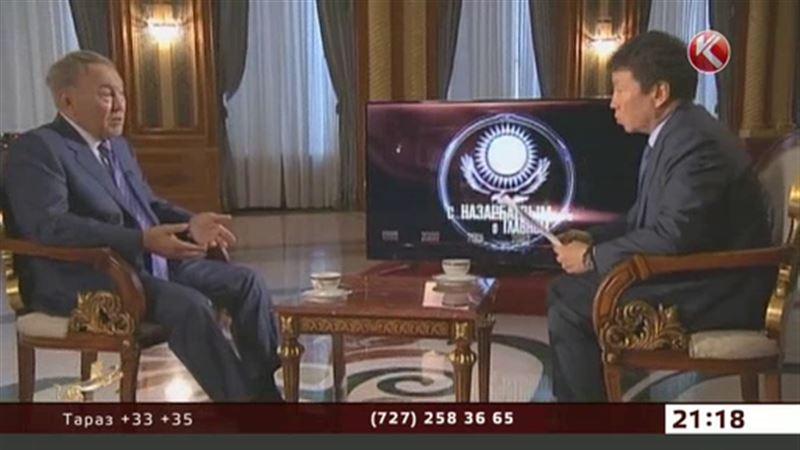 Назарбаев: наедине со всей страной