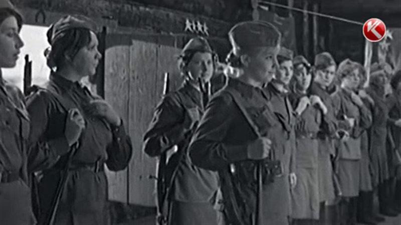 «Сұрапыл соғыста бой жеткен қыздар» деректі фильмі