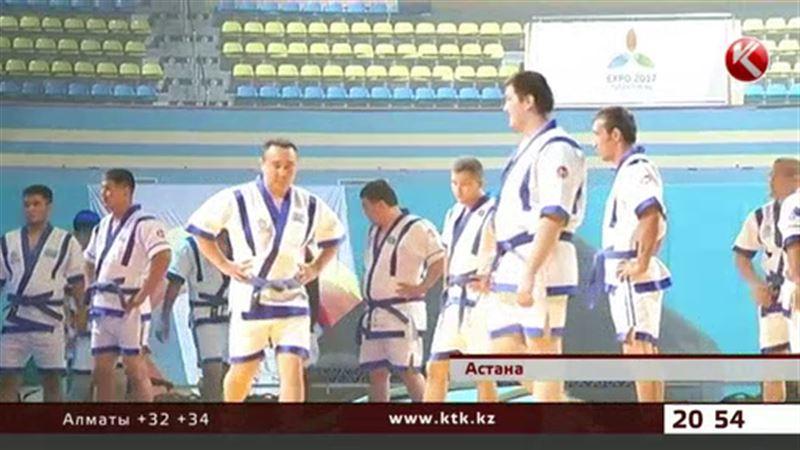 Астанада «Қазақстан барысы» турнирінің басталуына санаулы сағаттар қалды