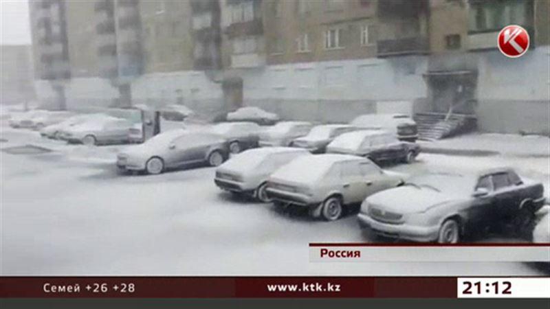 В Воркуте выпал снег, начался отопительный сезон