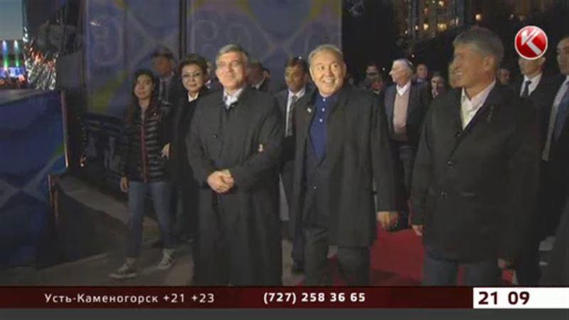 Путин первым поздравил Назарбаева с юбилеем