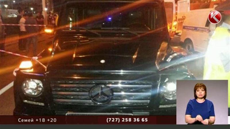 Астанчане едва не устроили самосуд над водителем дорогого авто