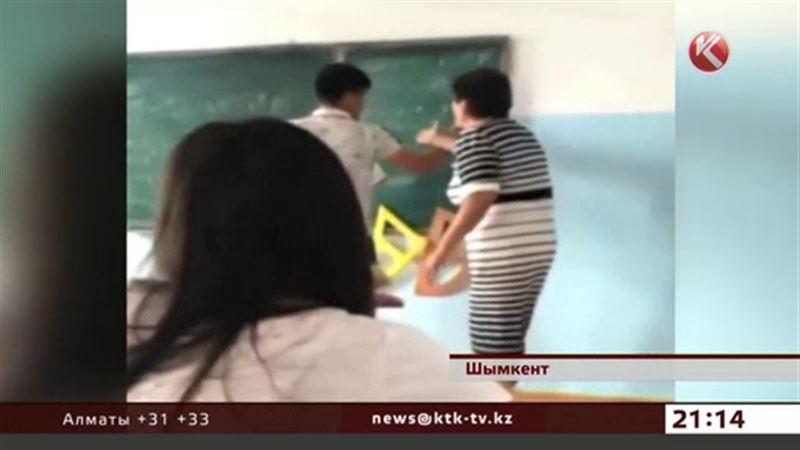 Учитель математики, побившая школьника, набросилась и на журналистов
