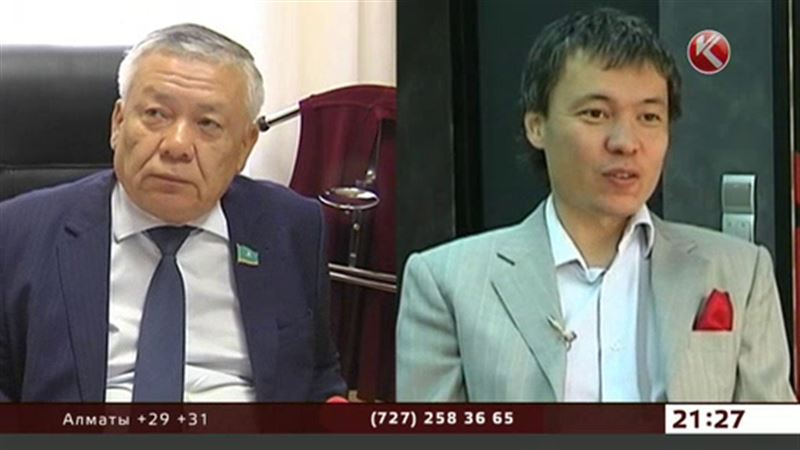 Депутат Ертаев «отрекся» от банкира Ертаева