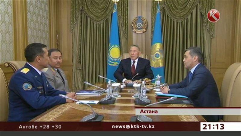 Президент напутствовал космонавта Аимбетова