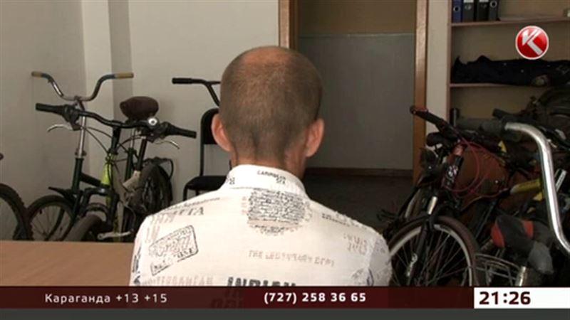 Воришка велосипедов из Петропавловска оказался наркоманом со стажем