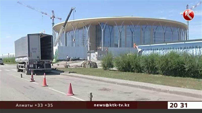 Астанада үш құрылысшы биіктіктен құлап мерт болды