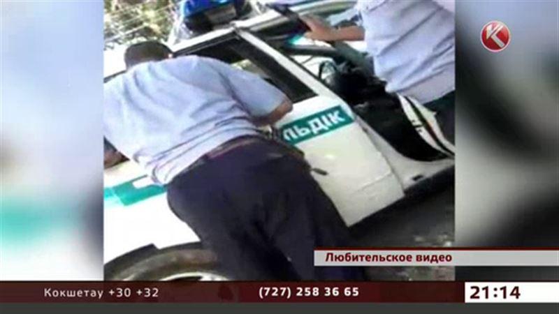 Жестокость полицейских возмутила жителей Алматинской области
