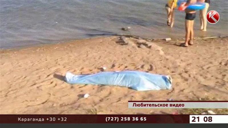 На окраине столицы люди купались рядом с трупом ребенка