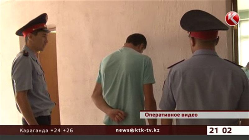 Подозреваемый в убийстве карагандинки Ирины Шевченко дает показания