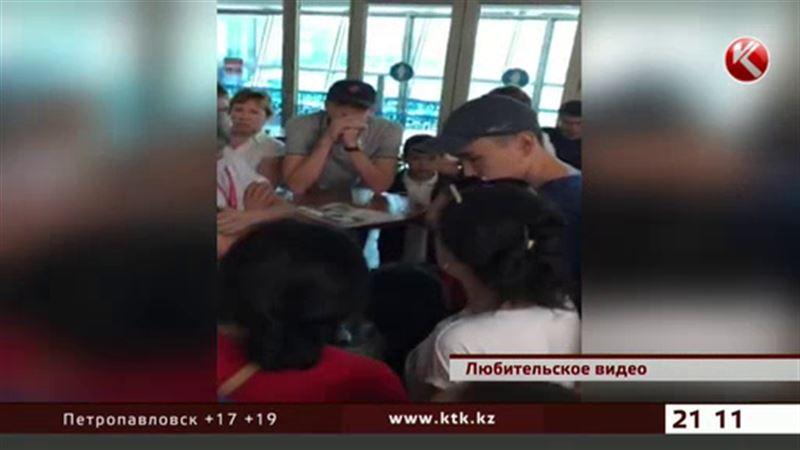 250 человек оказались запертыми в накопителе алматинского аэропорта