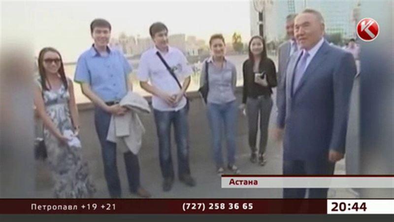 Есіл жағасында қыдырып жүрген  Назарбаевтың видеосы жұртты таңқалдырды