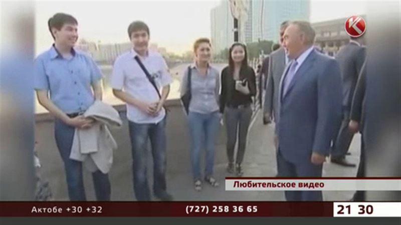 Новое неформальное видео с Президентом Казахстана
