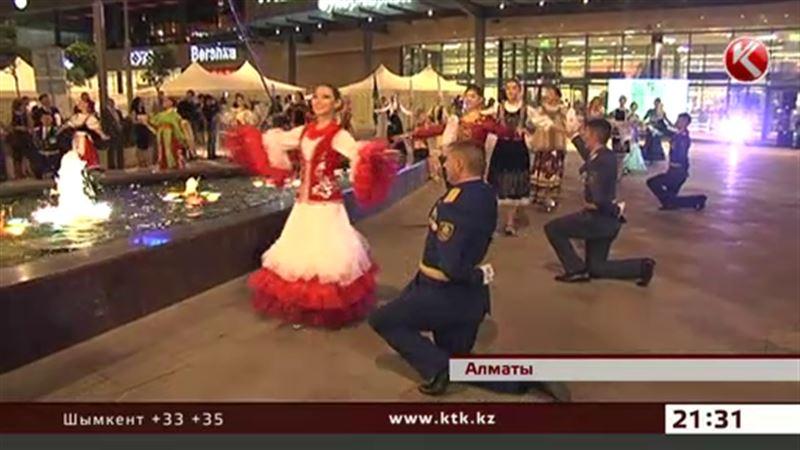 Офицерский бал прошел в Алматы
