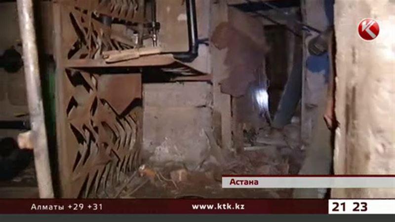 В Астане ограбили ювелирный магазин, проникнув в салон через подвал