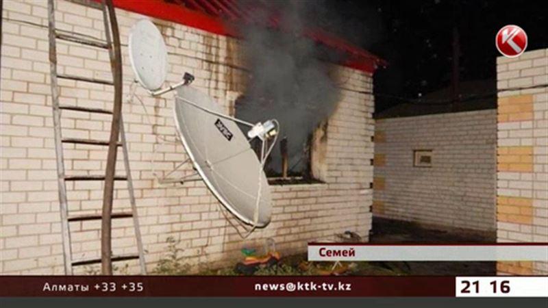 В Семее в пожаре погибла 30-летняя женщина и двое её детей